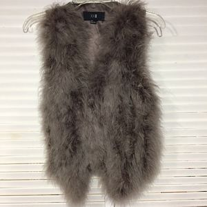 Forever 21 Feather Vest