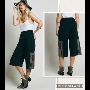 New Free People Cool Meadow Cropped Jeans Pants