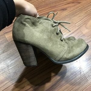 Jeffrey Campbell inspired booties