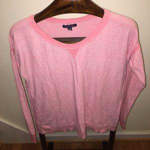 American eagle pink medium sweater