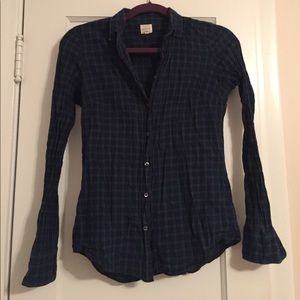 Perfect Plaid J. Crew Button Down!!