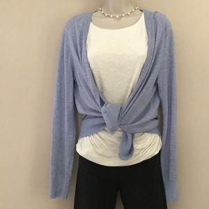 Lilac Cardigan Sweater