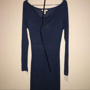 Arden B Maxi Sweater Dress NWT