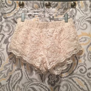 Forever 21 Laced shorts