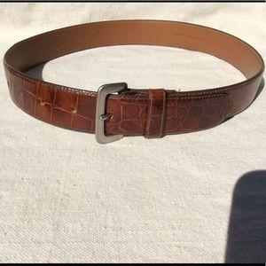 Calvin Klein Italian Calfskin Belt