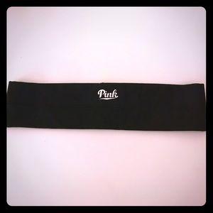 VS PINK black fitness headband