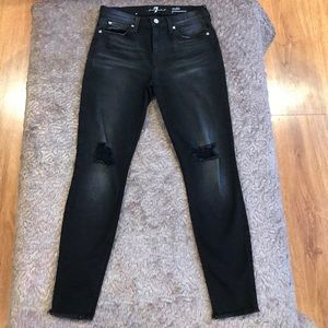 7 for All Mankind Gwenevere Ankle Skinny