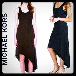 NWOT Michael Kors Navy Hi / Low Dress