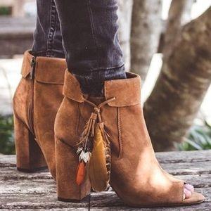 Jessica Simpson peep toe bootie