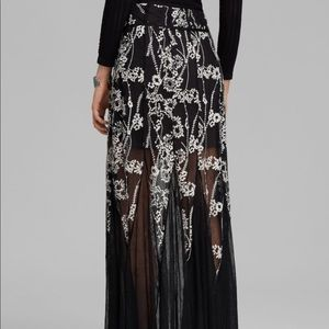 Free People Maxi Windswept Skirt Size 4