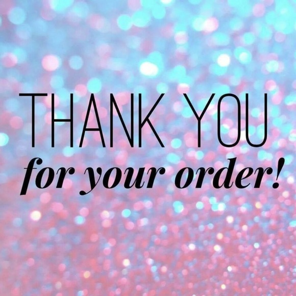 Thank You For Your Order >> Thank You For Your Order Poshmark