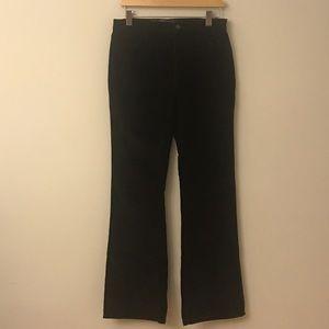 NYDJ Corduroy Dark Brown Pants Size 6