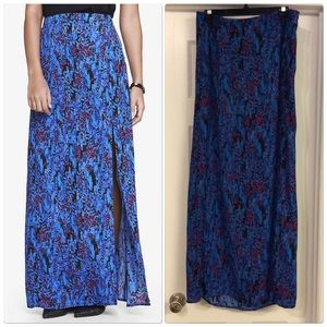 Express High Waisted Maxi Skirt