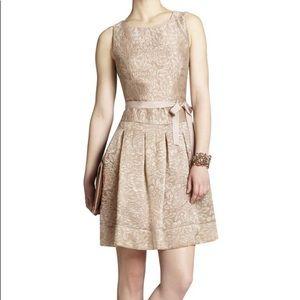 BCBGMAXAZRIA Delphine jacquard dress