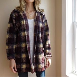 Vintage Palmetto's Checkered Cardigan