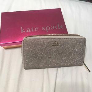 Glitter Kate spade wallet.