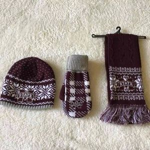 Mississippi State Winter Gear Accessories New