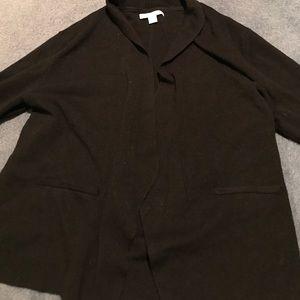 Black 3/4 sleeve sweater from NY&C!