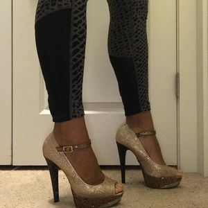 Betsy Johnson sequence heels