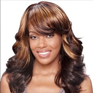 NWT Ombré Layered Wig with Bangs
