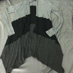 Black/Gray cardigan