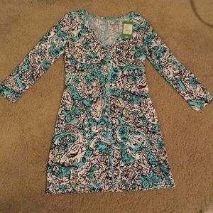 Lilly Pulitzer 3/4 Sleeve Dress NWT XS