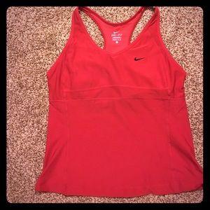 Nike Red Dri-Fit Tank- Like New!!