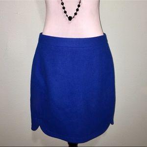 J. Crew cobalt blue pencil skirt