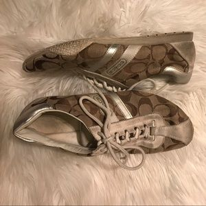 **well loved** Coach Tennis Shoes