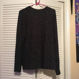 H&M || Gray Speckled Sweater with high neck