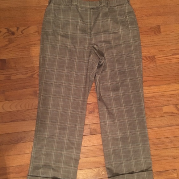 974c7ec4f6 Dress Barn Pants - Dress Barn Plaid Slacks