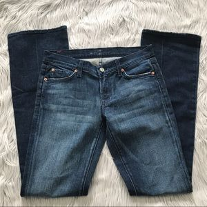 7 FOR ALL MANKIND *Long* Bootcut Jeans