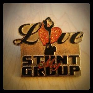 VARSITY Love My Stunt Group Cheer Pin