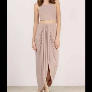NWOT Tobi maxi skirt set