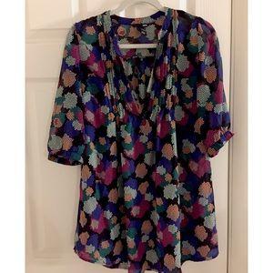 H&M long flowy blouse