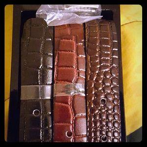 Other - Set of 3 Belts!