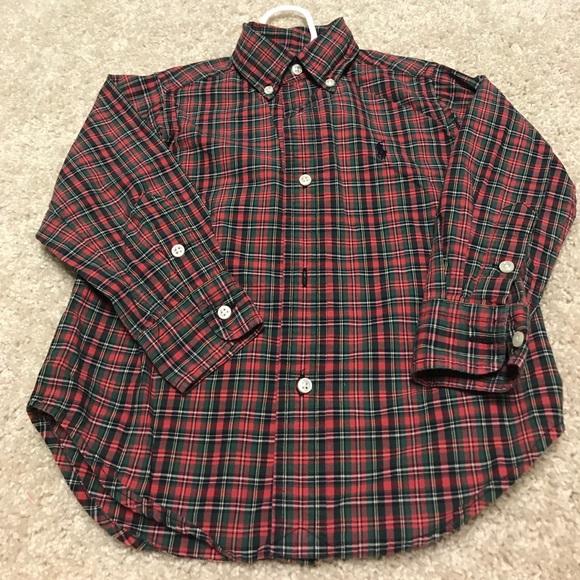 4a1f6cf8e82 Polo Ralph Lauren boys button front dress shirt. M 59c879875a49d0a8ab05dc0b