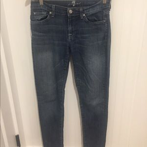 7 Seven For All Mankind gwenevere skinny Jeans 28