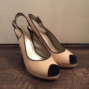 Banana Republic slingback heels.
