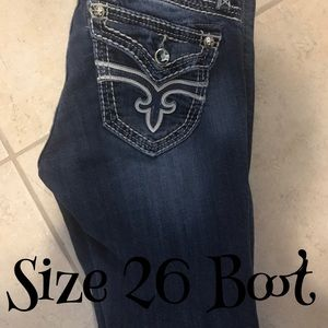 Size 26R rock revival bootcut