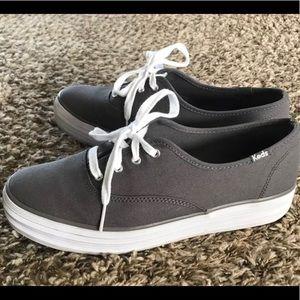 Keds triple, gray, size 9