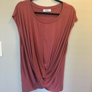 Anthropologie top with knot front
