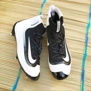 Nike huarache baseball cleats white/black