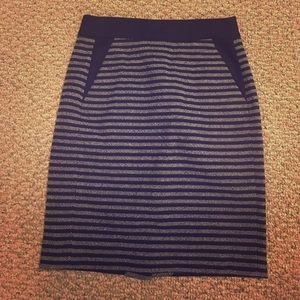 J. Crew tweed pencil skirt - size 2