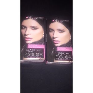 2 New Boxes of NuPore Black hair color