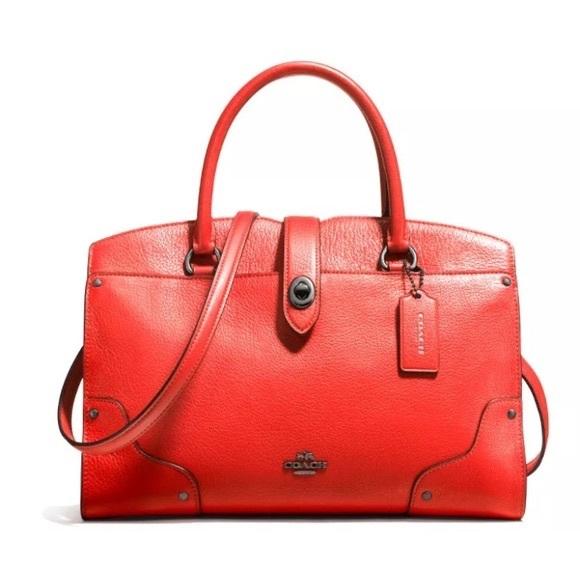 b7919dce6 Coach Bags | Sale Boutique Mercer Satchel 30 | Poshmark