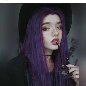 Purple Beauty LaceFront Wig 24-26 inches!!