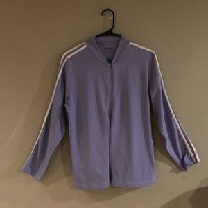 Zippered sweat shirt, Sz MP