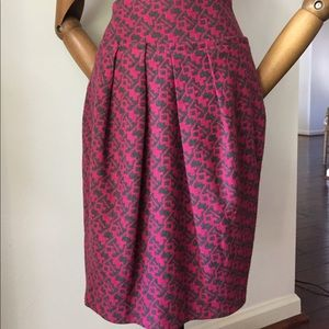Anthropology skirt size 4