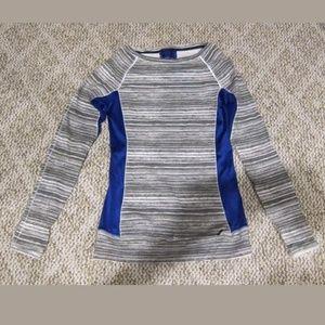 Calvin Klein Long Sleeve Active Top w/Thumbholes